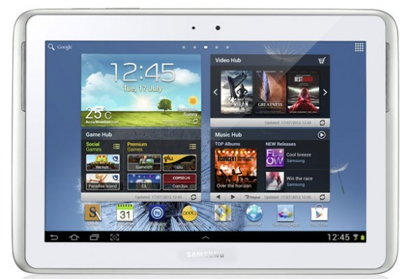 Galaxy Note 10.1 disponibile la prima Rom Leak di Jelly Bean (N8000DDALI1)