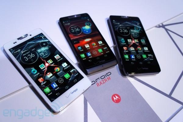 Motorola presenta ufficialmente RAZR HD, RAZR Maxx HD e RAZR M 4G LTE