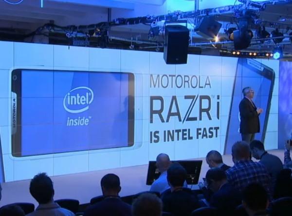 Motorola presenta ufficialmente RAZR i con processore Intel a 2 GHz [UPDATE 2]