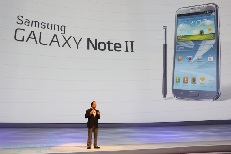 Samsung Galaxy Note II: ecco il primo drop test