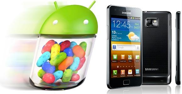 Samsung Galaxy S II: Android 4.1.2 arriva anche per TIM e Wind