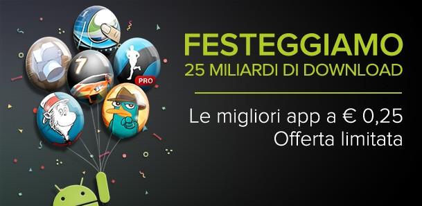 Ecco le migliori App a 0.25€ di oggi sul Play Store!