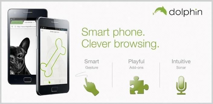 Dolphin Browser si aggiorna migliorando la velocità