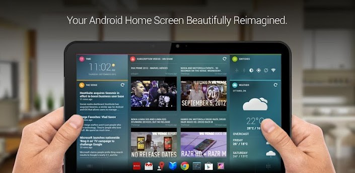Chameleon Launcher esce dalla fase beta: prima versione disponibile sul Play Store