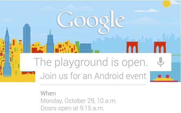 Evento Google 29 Ottobre: nuove conferme