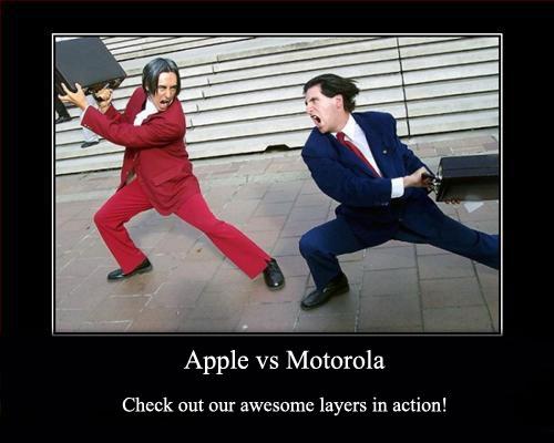 Motorola cessa volontariamente la battaglia legale con Apple