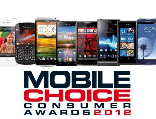 Mobile Choice Awards 2012: protagonisti i dispositivi Android