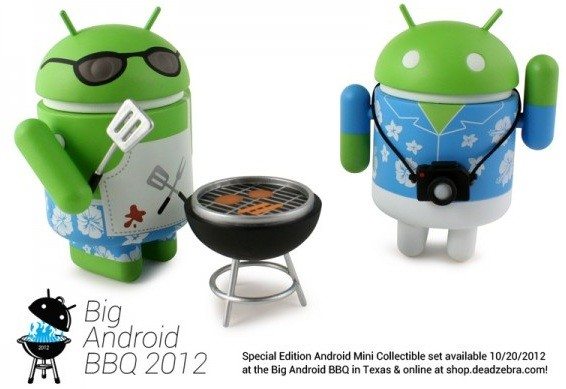 BBQ Special Edition: arriva una confezione formata da due mini Android da collezione