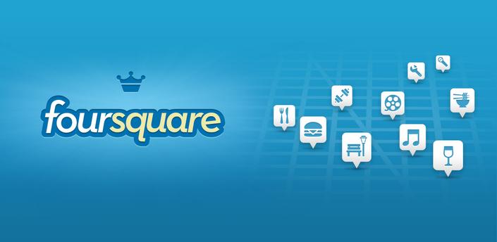 Foursquare: nuovo aggiornamento sul Play Store di Google