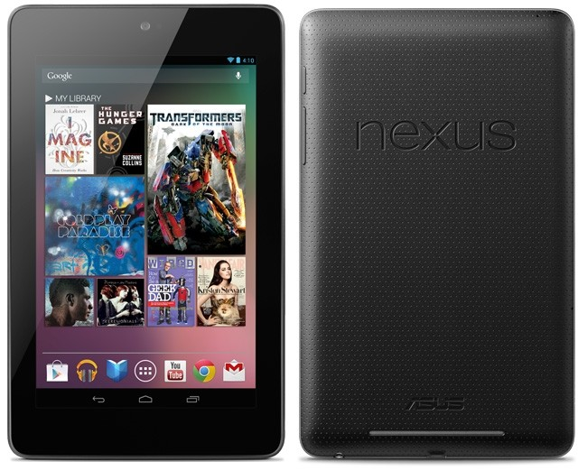 Iniziato anche in Italia il roll-out dell'aggiornamento ad Android 4.1.2 per Nexus 7!