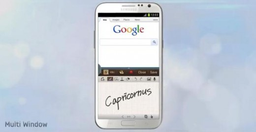 Samsung Galaxy Note II: nuovo video promo mostra il Multi-Window