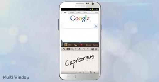 Samsung Galaxy Note II: nuovo video promo mostra il Multi-Window