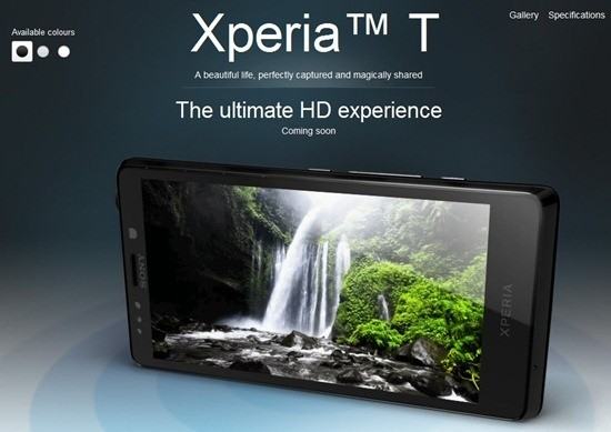 Sony Xperia T in pre-ordine su Expansys a 489€