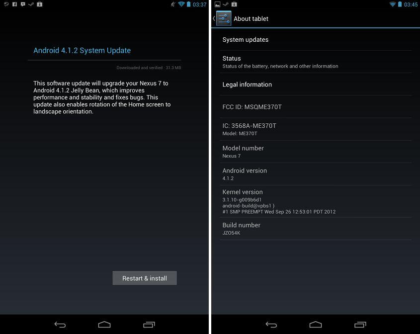 Android 4.1.2: ora le notifiche si possono espandere con un dito solo