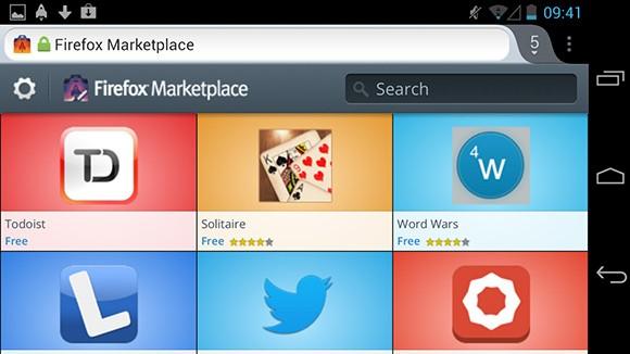 Mozilla rende disponibile il nuovo Firefox Marketplace su Android