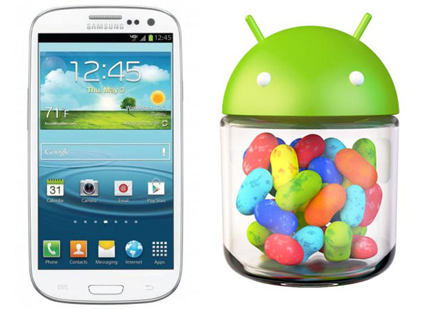Samsung Galaxy S III: disponibile l'update ad Android 4.1.2 anche per No-Brand