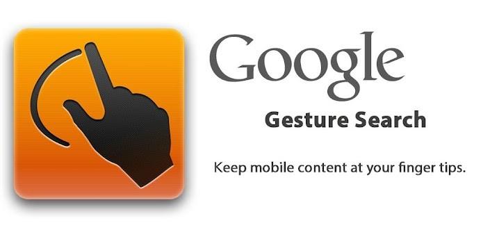 Google Gesture Search si aggiorna e aggiunge la compatibilità con i Tablet e il Nexus 7