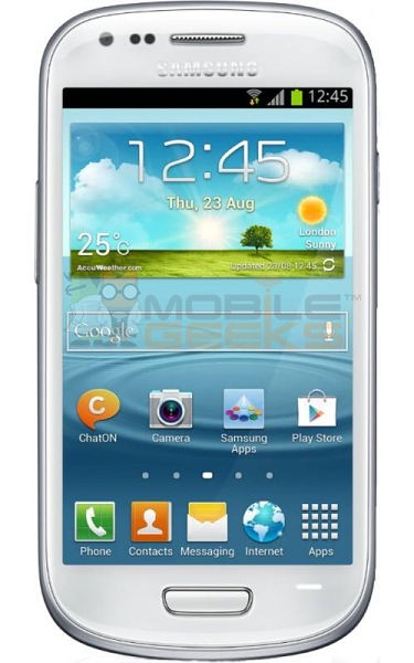 Samsung Galaxy S III Mini: render, specifiche tecniche e prezzo