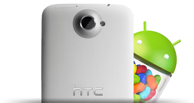 HTC: Android 4.1 Jelly Bean per One X e One S da Ottobre