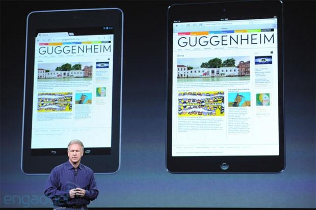 Svelato ufficialmente il principale concorrente del Nexus 7: ecco il nuovo iPad Mini di Apple!
