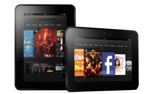 Amazon Kindle Fire e Kindle Fire HD: disponibile per l'acquisto in Italia
