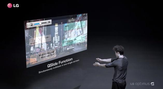 Qslide: il multitasking di LG riassunto in un video