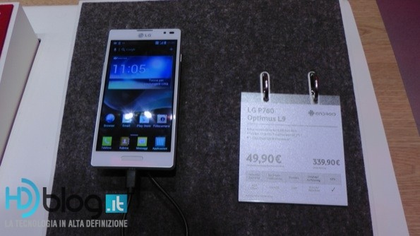LG Optimus L9 presto in Italia grazie a Vodafone
