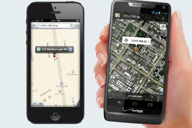 Google Maps richiede più dati delle Mappe Apple