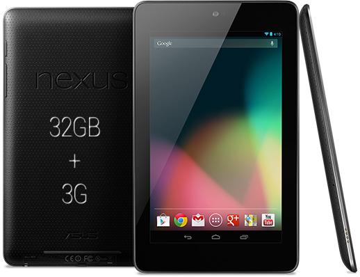 Il Nexus 7 da 32GB 3G potrebbe costare 299€