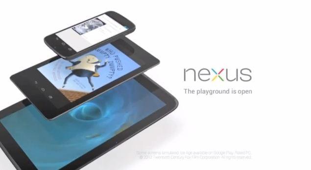 [GOOGLE EVENT] Google pubblica il primo video pubblicitario ufficiale per Nexus 4 e Nexus 10