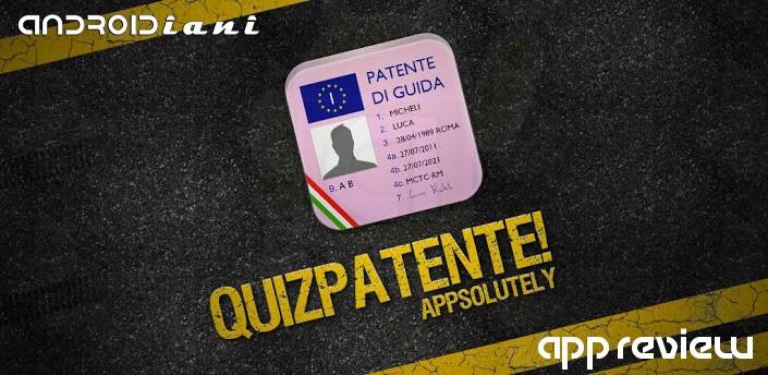 QuizPatente! sbarca su Android [Recensione di Androidiani.com]