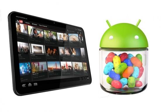 Motorola Xoom Wi-Fi: ecco Android 4.1.2