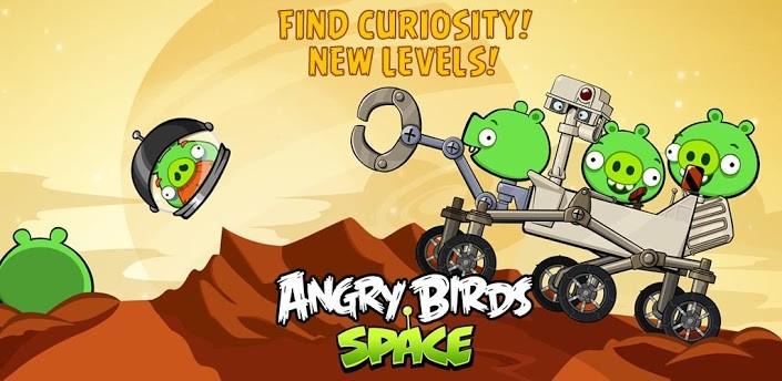 Angry Birds Space si aggiorna con 10 nuovi livelli e alcuni bonus