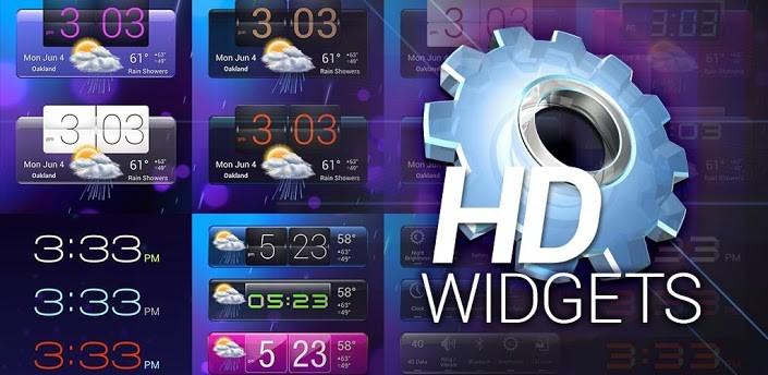 HD Widgets si aggiorna con nuovi widget e funzioni
