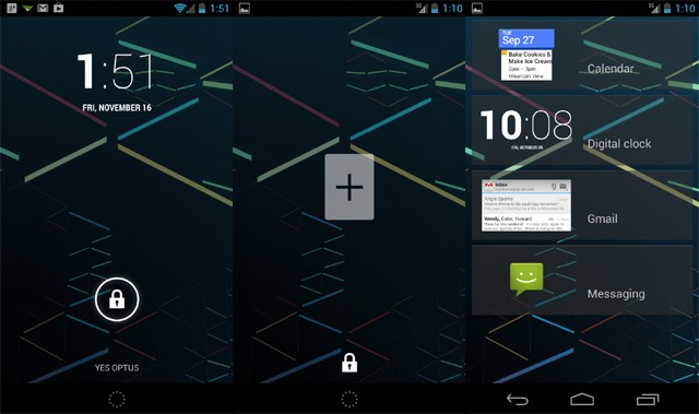 Android 4.2 Jelly Bean: ecco come rimuovere i widgets dal lockscreen