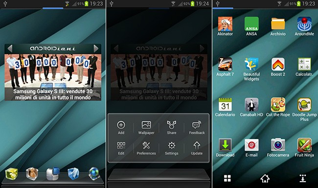 Next Launcher: il nuovo launcher 3D del GO Dev Team
