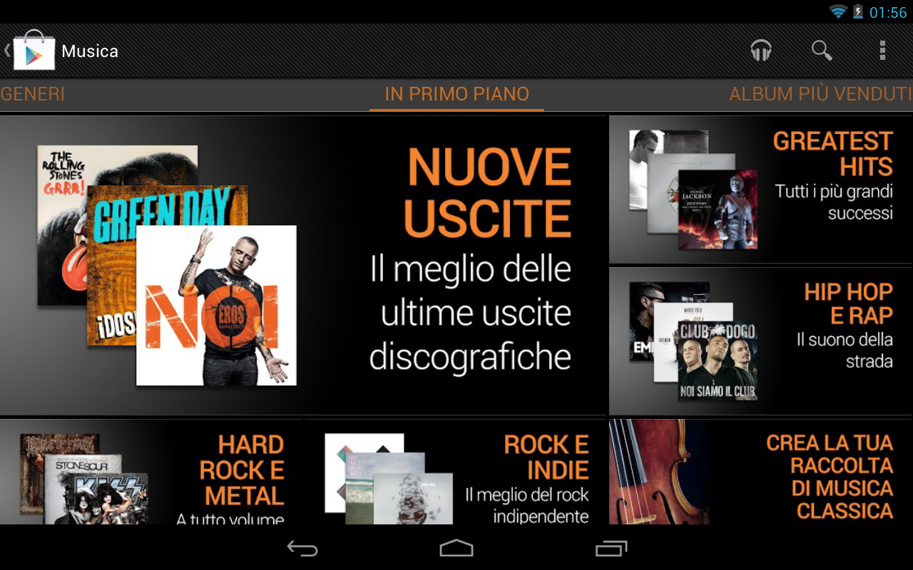 Google Play Music arriva ufficialmente in Italia