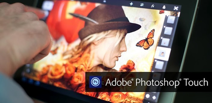 Adobe Photoshop Touch si aggiorna per i tablet da 7 pollici