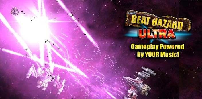 Beat Hazard Ultra: l'arcade game sbarca sul Google Play Store