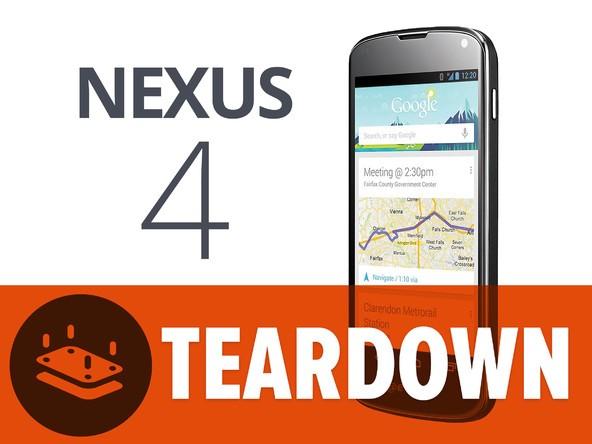 LG Nexus 4: il teardown svela la presenza di un chip LTE