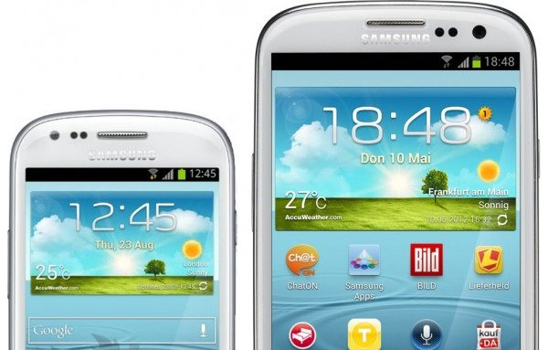 Samsung Galaxy S III Mini: un'immagine mostra nuove colorazioni