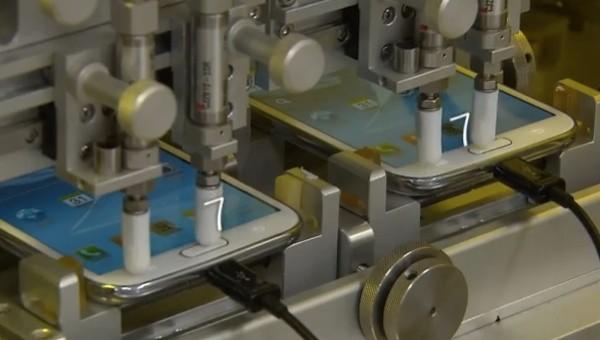 Samsung Galaxy S III e Note II: ecco come vengono testati nei laboratori