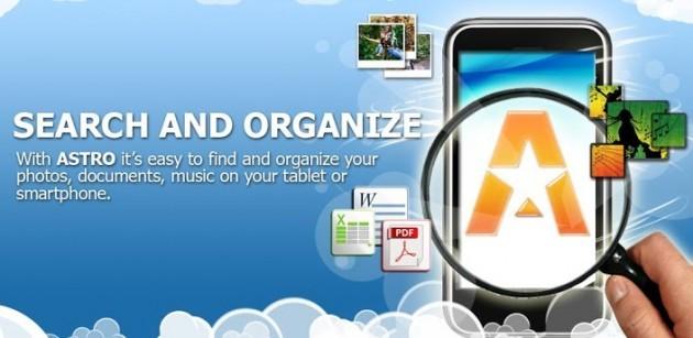 ASTRO File Manager si aggiorna con il supporto alle foto di Facebook