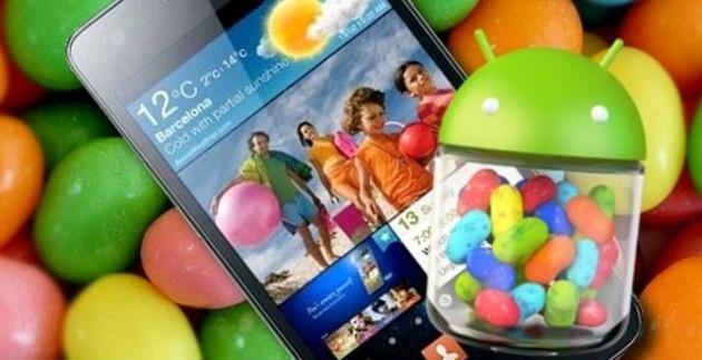 Samsung Galaxy S II e Galaxy Note: Android 4.1.2 a Gennaio / Febbraio
