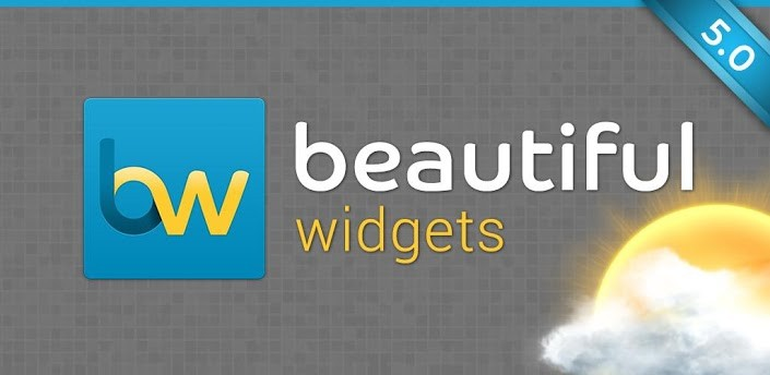 Beautiful Widgets 5.0 disponibile sul Play Store