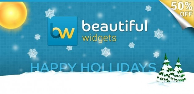 Beautiful Widgets e HD Widgets in offerta sul Play Store