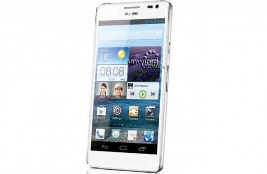 Huawei svelerà il suo top di gamma Ascend D2 al CES 2013