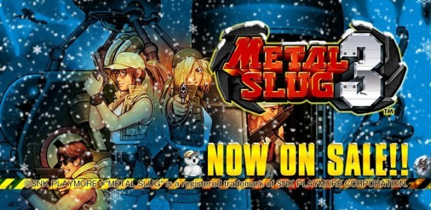 Metal Slug 3 in offerta a 1.79€ sul Play Store fino al 6 Gennaio