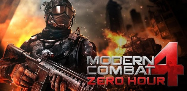 Modern Combat 4: Zero Hour disponibile sul Play Store [UPDATE: Risolti i problemi di download]