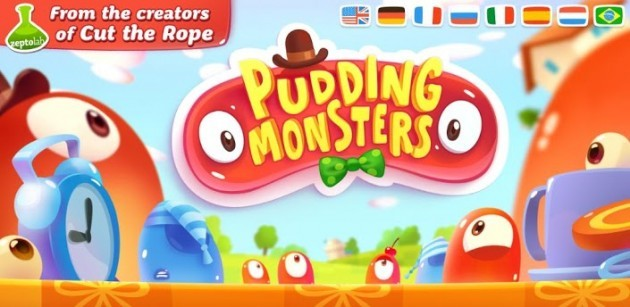 Dai creatori di Cut the Rope, arriva Pudding Monsters su Android